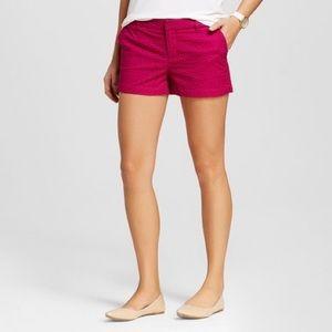 Women's Eyelet Chino shorts size 2